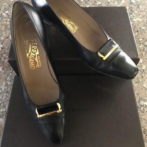 Classic pair of beautiful Ferragamo shoes
